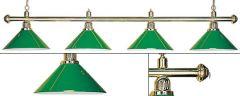 Лампа четыре плафона
