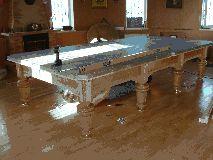 Установка бильярдного стола 12 футов
